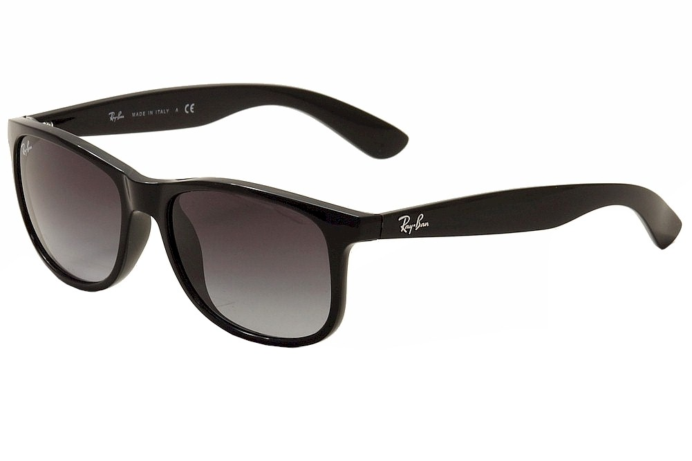 f20dd3ba77 Ray Ban Andy RB4202 RB 4202 RayBan 601 8G Black Silver Fashion ...