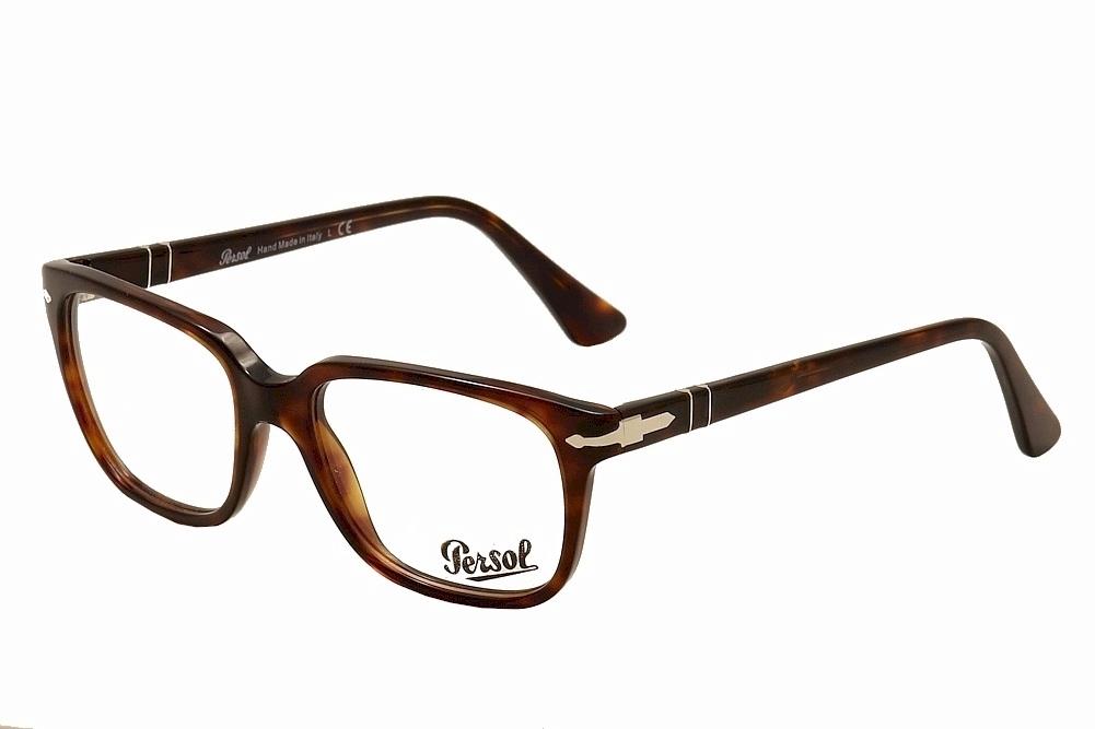 be33467db9 Persol Eyeglasses 3094V 3094 V 9015 Havana Full Rim Optical Frame ...