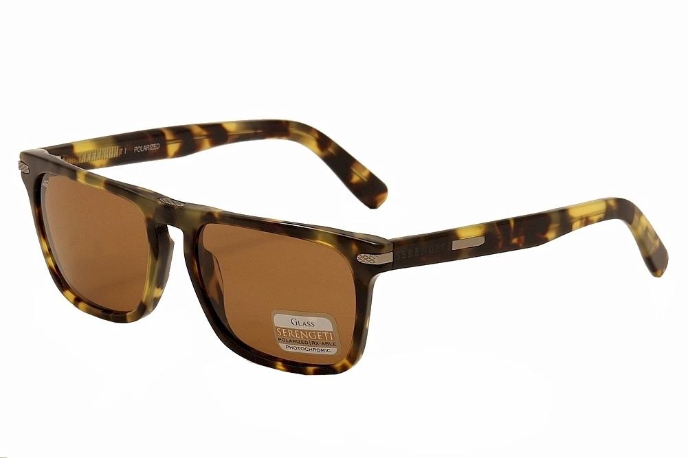 28eb8d4aad8a Serengeti Men s Carlo 8160 Mossy Tortoise Brown Polarized Fashion ...
