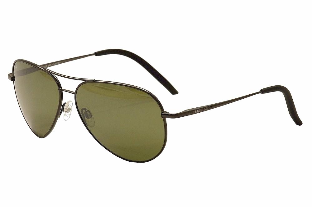 f096c762ba0 Serengeti Carrara 8294 Shiny Gunmetal Polarized Fashion Pilot ...