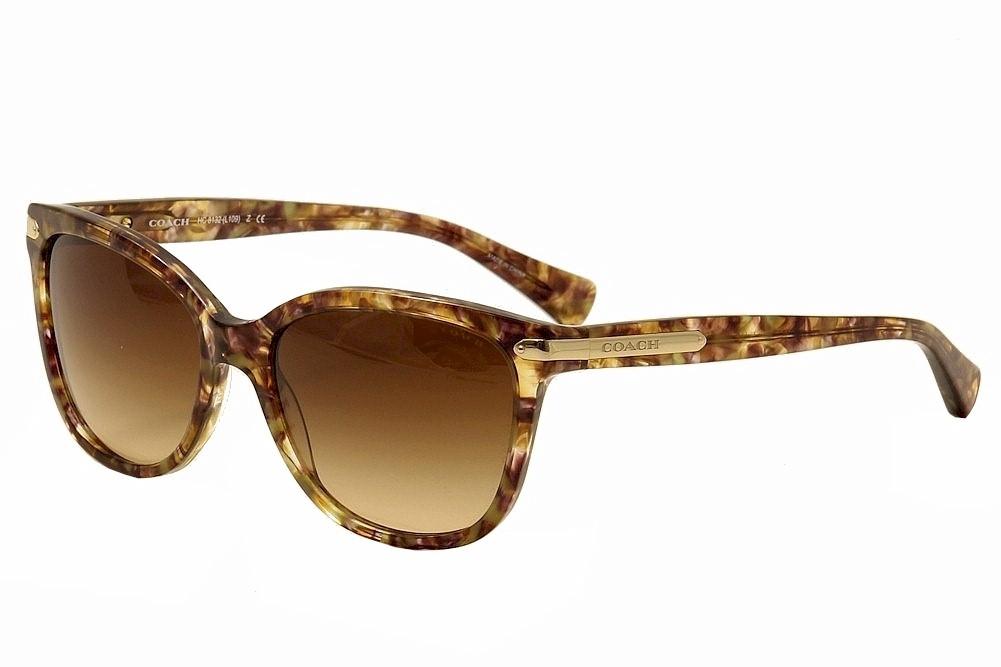 5f54f9a696 Coach HC8132 HC 8132 5287 13 Confetti Light Brown Fashion Sunglasses ...