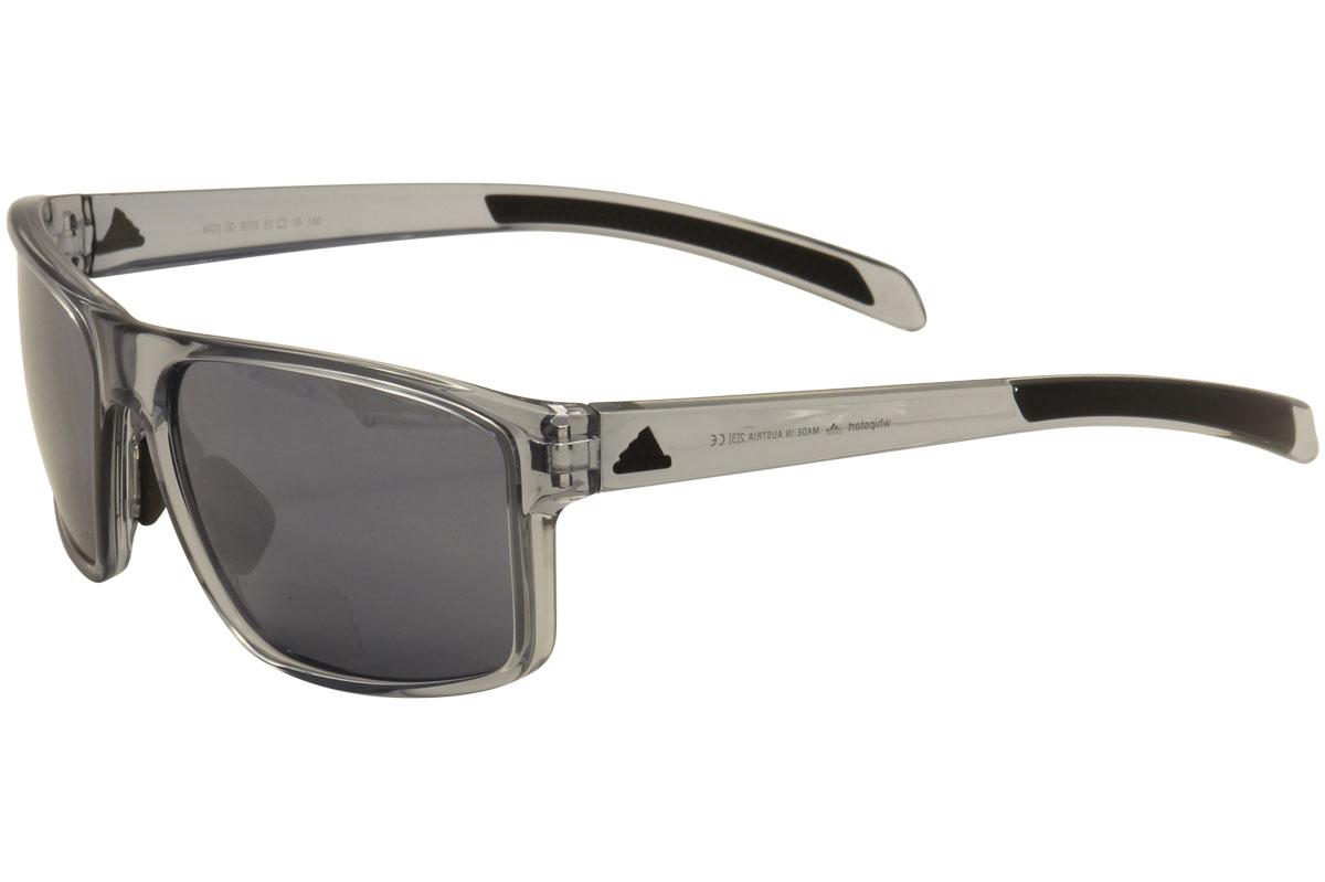 0b72fe020b Adidas Men s Whipstart A423 6073 Grey Crystal Sport Sunglasses 61mm ...