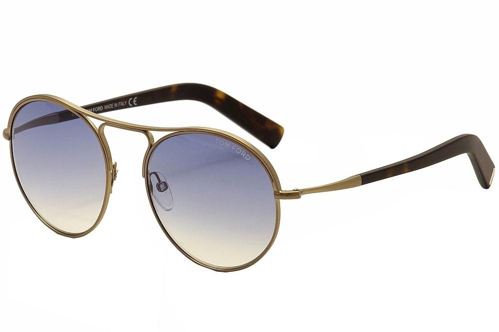 1f11582b2f Tom Ford Jessie TF449 TF 449 37W Gold Havana Fashion Sunglasses 54mm ...