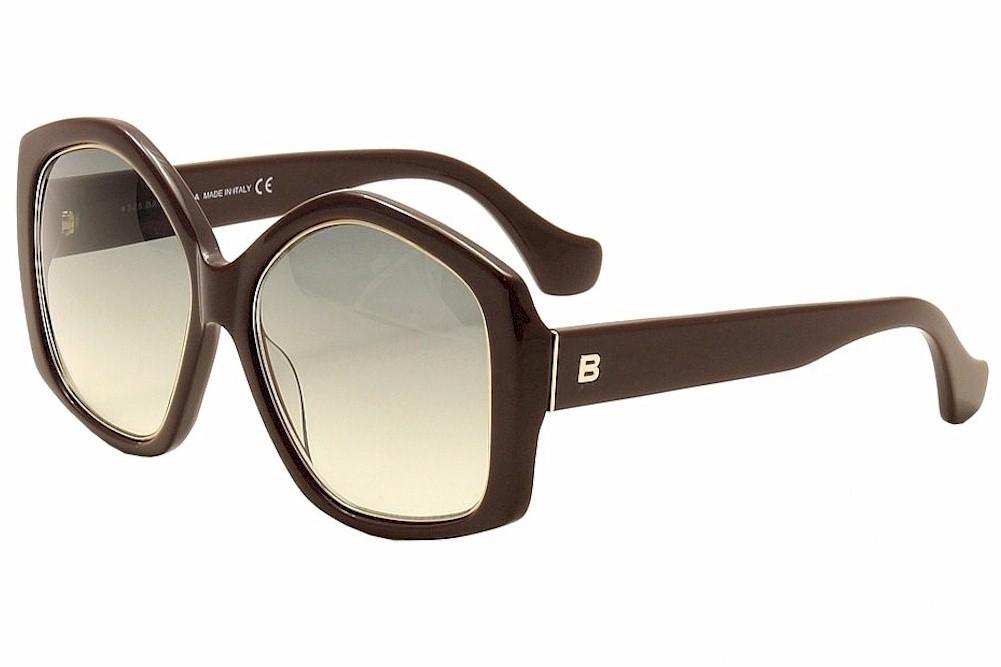 3b00c204bb Balenciaga Women s BA49 BA 49 81B Shiny Violet Fashion Sunglasses ...