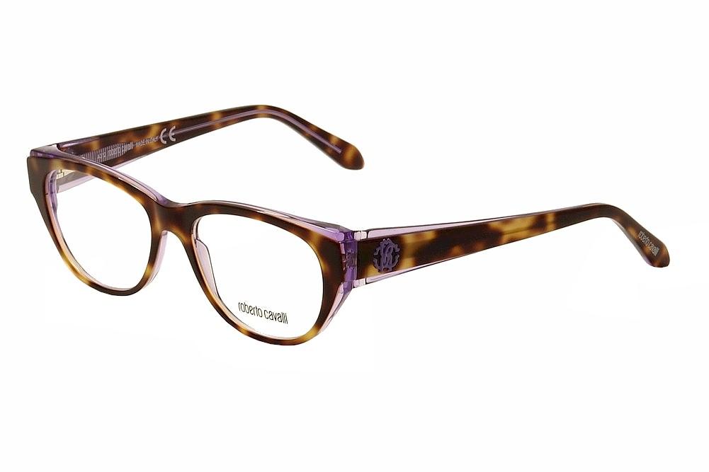 7cfd00505a Roberto Cavalli Eyeglasses Maupiti RC068555A Havana Purple Optical ...