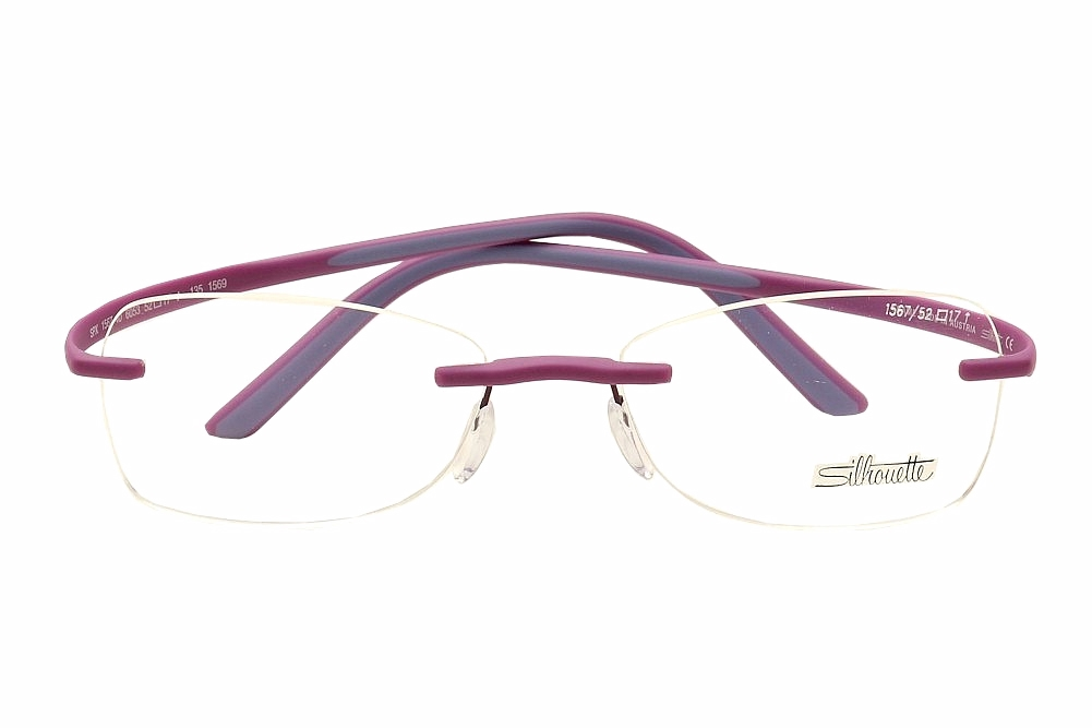 Silhouette Eyeglasses SPX Match Chassis 1569 Rimless Optical Frame ...