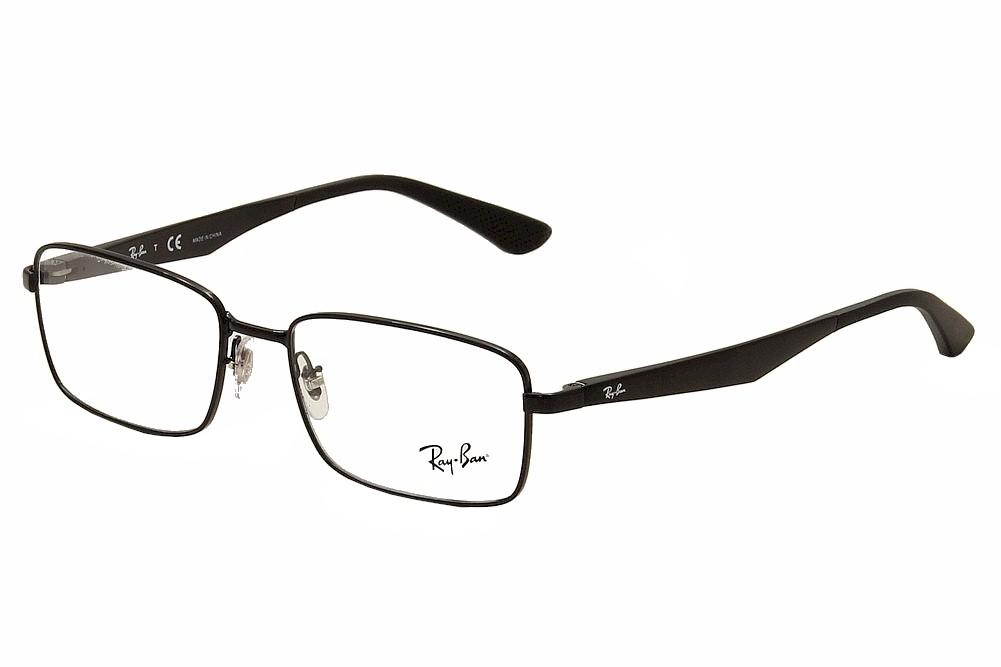 10259a26c25 Ray Ban Eyeglasses RB6333 RB 6333 2509 Shiny Black RayBan Optical ...