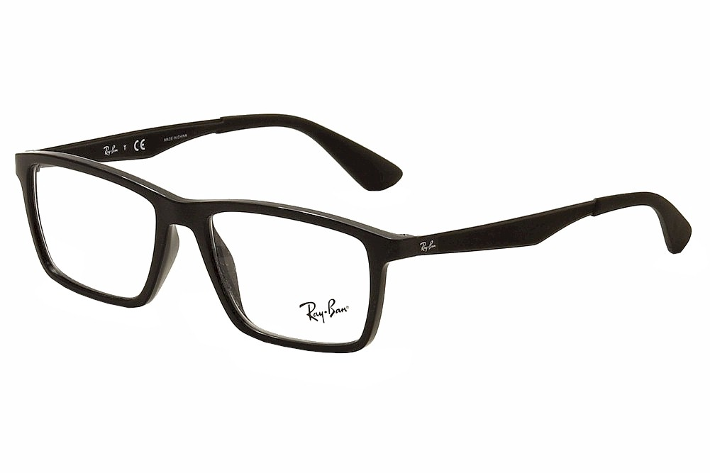 8dd5b8450dbb Ray Ban Eyeglasses RB7056 RB 7056 2000 Shiny Black RayBan Optical ...
