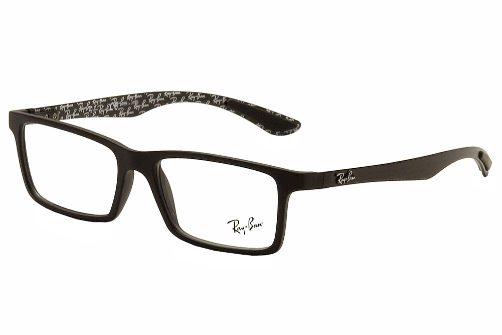 92a909fa06a Ray Ban Tech Eyeglasses RB8901 8901 5263 Black Gloss RayBan Optical ...