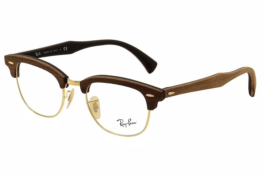 cb7cf26276 Ray Ban Clubmaster Eyeglasses RB5154M 5154-M 5560 Gold RayBan ...