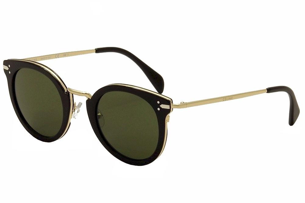 ee31576782aa Celine Women s CL 41373S CL 41373 S ANW 1E Black Gold Fashion ...