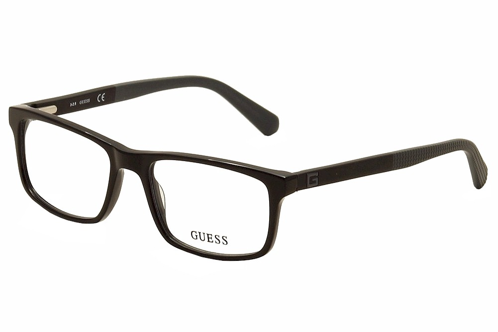 315c41ab0a Guess Men  39 s Eyeglasses GU1878 GU 1878 001 Black Grey Full Guess GU1893  Eyeglasses