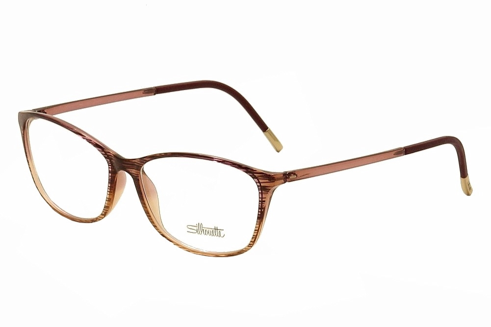 a0a41072a4e Silhouette Eyeglasses SPX Illusion 1563 6053 Rosewood Gradient ...