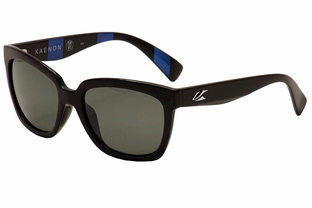 47f3619d569 Kaenon Polarized Women s Cali 219 01 Black Grey Blue G12 Fashion ...