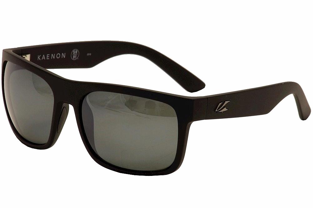 ac4c6e3a09 Kaenon Polarized Men s Burnet XL 036 03 Black Gunmetal G12M ...