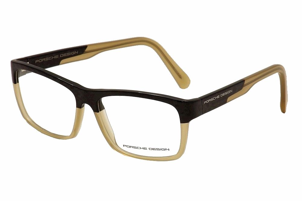 b6b0db9f2e14 Porsche Men  39 s Eyeglasses P  39 8190 P8190 B Full Rim