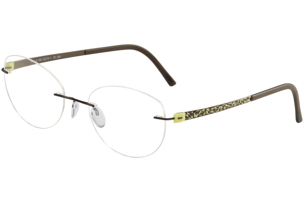 d83df9ce1bdcd Silhouette Eyeglasses Titan Accent Flora Edition Chassis 4548 6065 ...