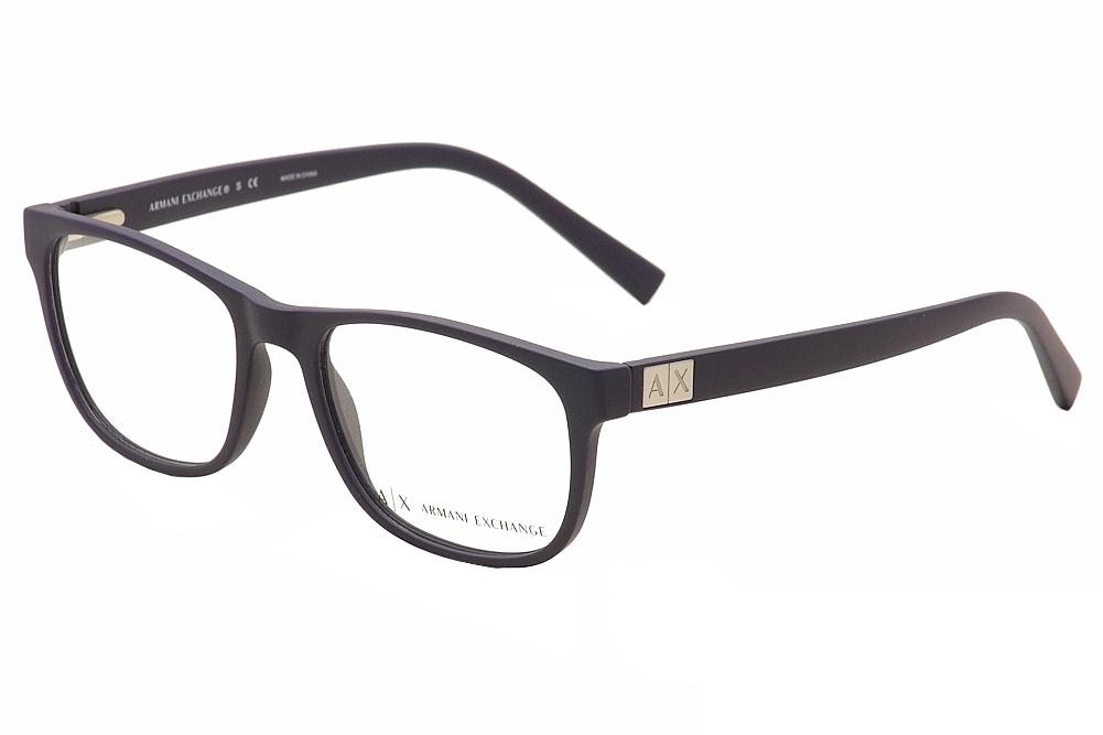 912fedf2eee1 Armani Exchange Eyeglasses AX3034 AX 3034 8157 Navy Sea Optical ...