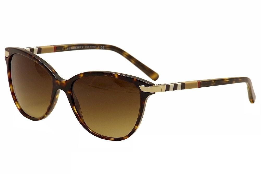 4aed8414be0 Burberry B4216 B 4216 3002 13 Dark Havana Gold Fashion Cat Eye ...