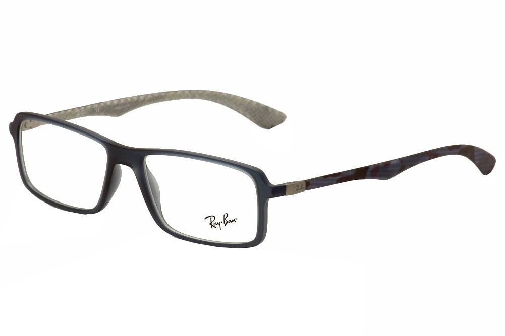 3bc6e1aa6738 Détails   Ray Ban Tech Eyeglasses RB 8902F RB8902 F 5480 Blue RayBan  Optical Frame 56mm