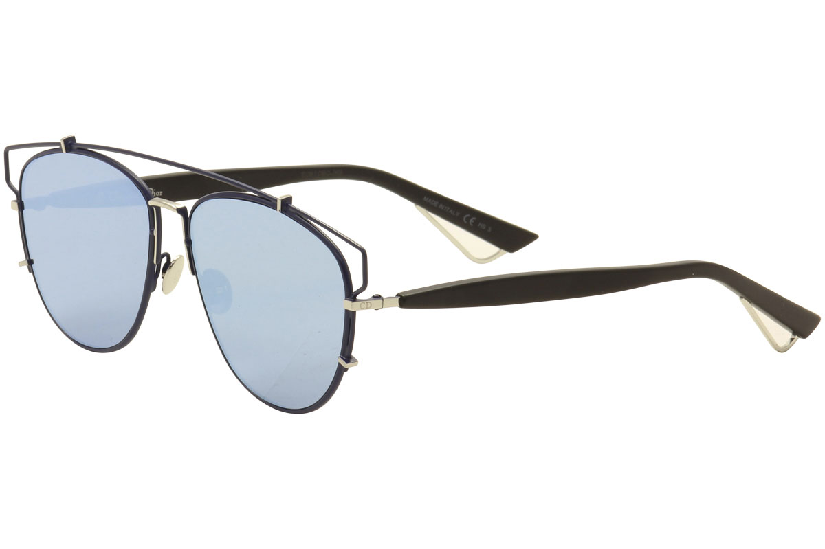 638be8d12df Christian Dior Women s Dior Technologic PQU-A4 Navy Black Silver ...