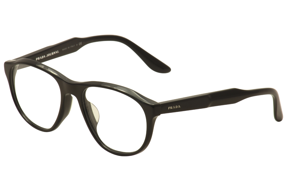 7a21b3a8d0 Prada Eyeglasses VPR 12SF 12S-F 1AB-1O1 Black Optical Frame 54mm ...
