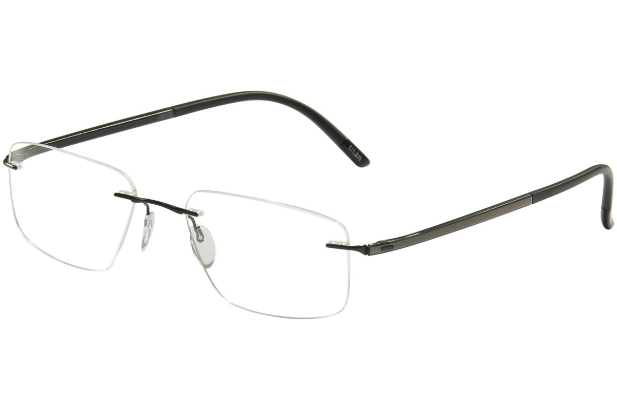 Silhouette Eyeglasses Fusion Chassis 5479 Rimless Optical Frame | eBay
