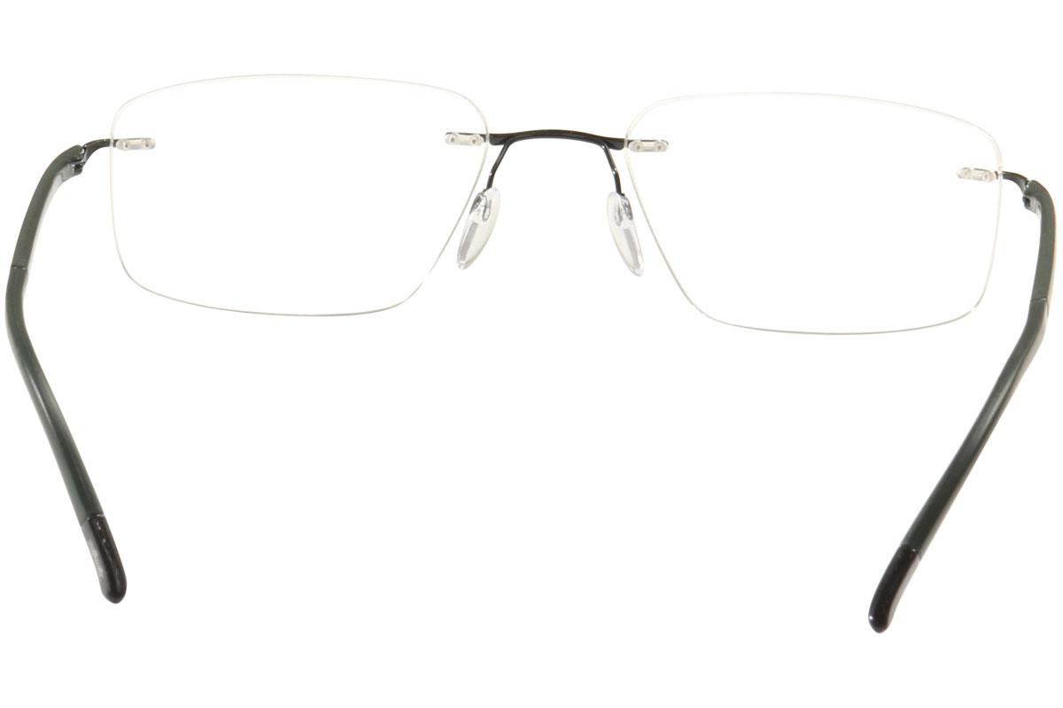Silhouette Eyeglasses Fusion Chassis 5479 Rimless Optical Frame | eBay