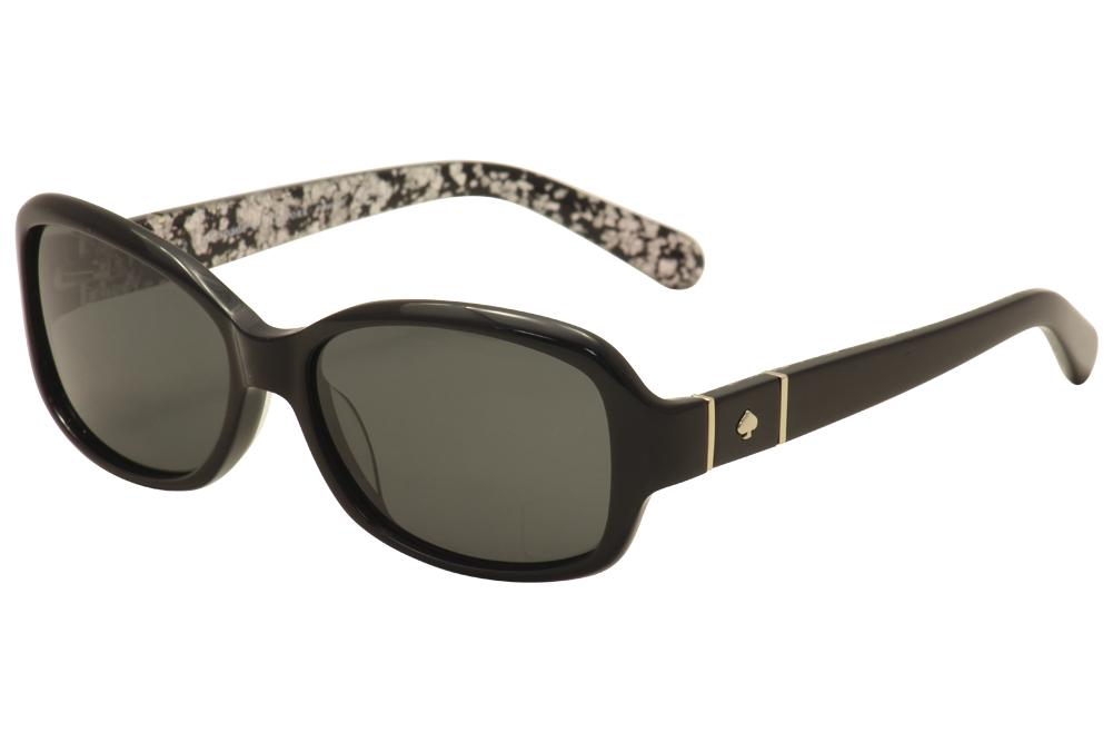 1ce52d1eb5 Kate Spade Women s Cheyenne P S Y21P Y2 Black Gold Fashion ...