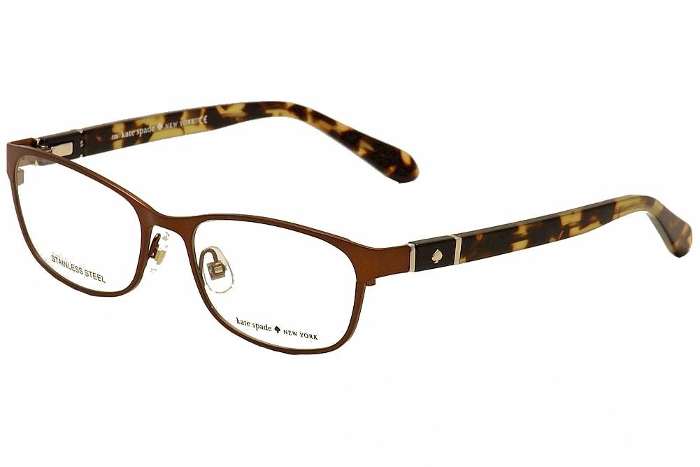 a1b1ee47d5 Kate Spade Eyeglasses Jayla 5BZ Brown Tortoise Full Rim Optical ...