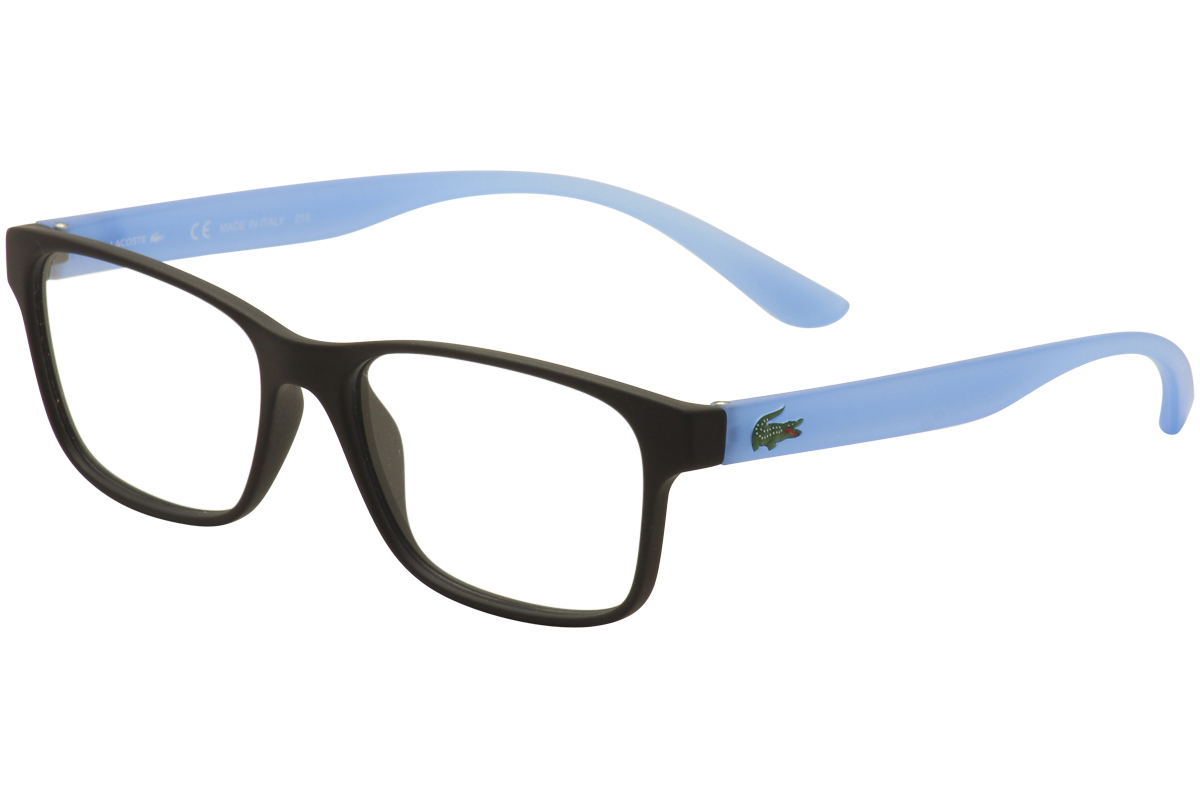 99b0845cc30a Lacoste Kids Youth Eyeglasses L3804B 3804 B 001 Black Blue Optical ...