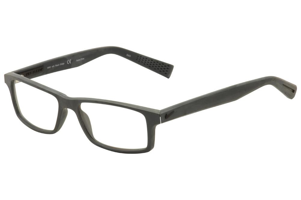fef6cc7567 Nike Flexon Eyeglasses 4259 024 Matte Grey Black Full Rim Optical ...