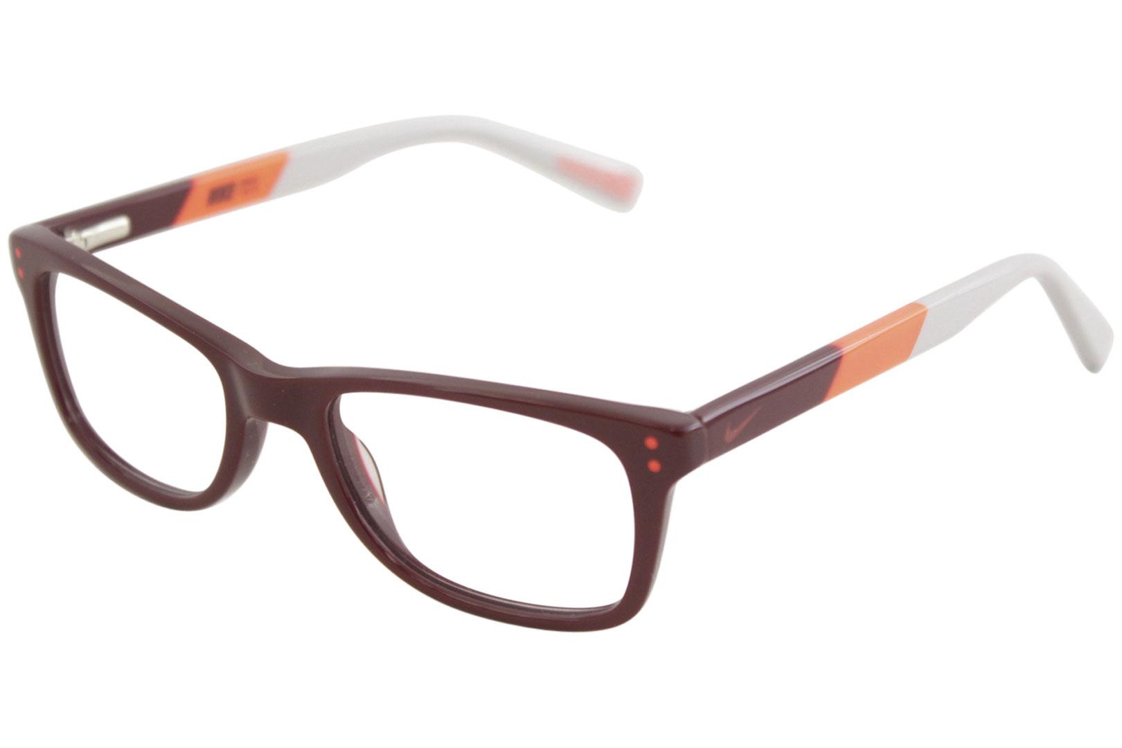 9fed63a2134 Nike Youth Boy s Eyeglasses 5538 605 Team Red Bright Crimson Optical ...