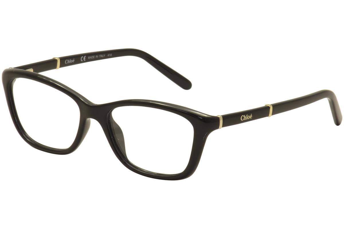 6afdc6a947 Chloe Women s Eyeglasses CE2639 CE 2639 001 Black Full Rim Optical ...