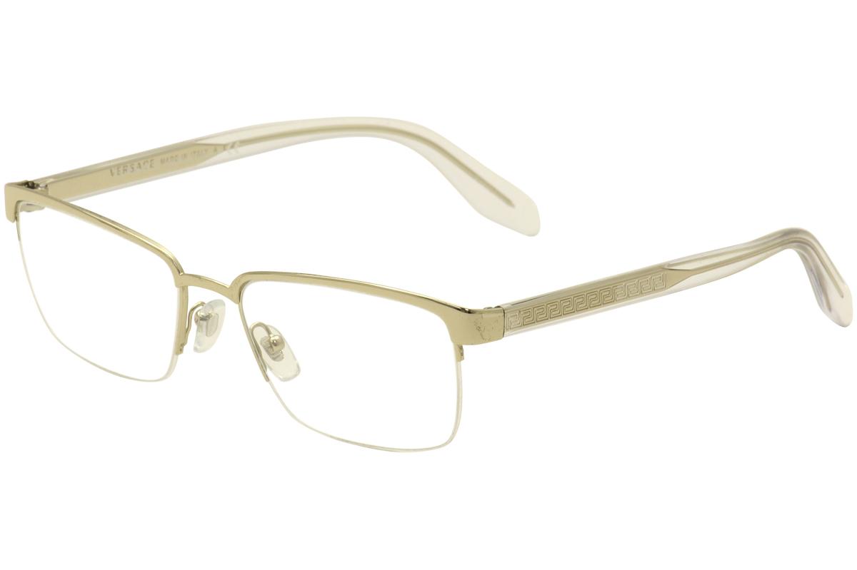601f87184010 Men's Gold Versace Eyeglasses | Green Communities Canada