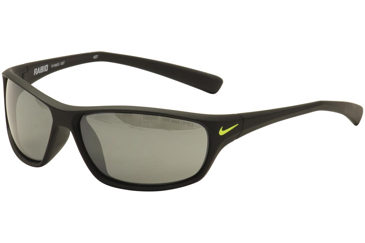 769e96f8c3 Nike Men s Rabid EV0603 EV 0603 007 Matte Black Green Sport ...