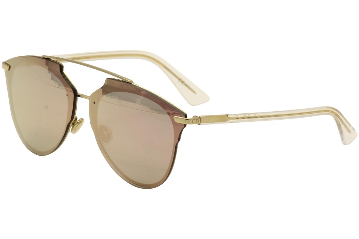 14eb6fb991 Christian Dior Women s ReflectedP S S5Z RG Gold Crystal Fashion ...