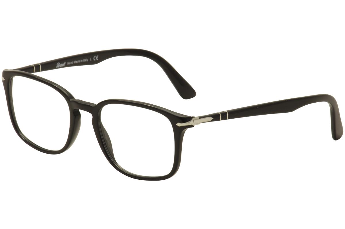 Persol Men\'s Eyeglasses PO 3161V 3161/V 95 Black Full Rim Optical ...