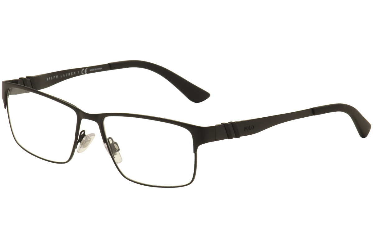 02b7caf189 Polo Ralph Lauren Men s Eyeglasses PH1147 PH 1147 9038 Black Optical ...