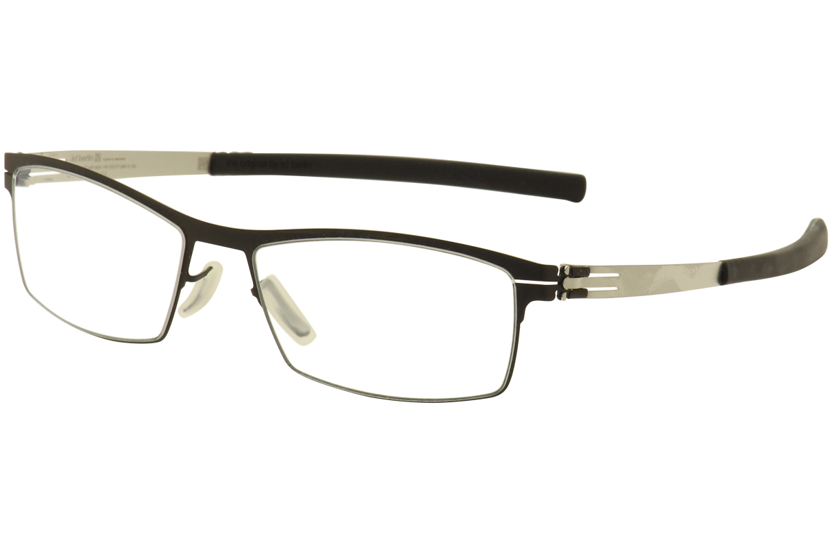 Ic Berlin Eyeglasses Frames Model Wissam : IC! Berlin Mens Eyeglasses Alwin C. XM0067002020007 Black ...