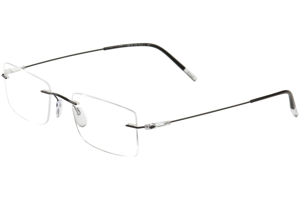Silhouette Men\'s Dynamics Colorwave Chassis 5500 Rimless Optical ...