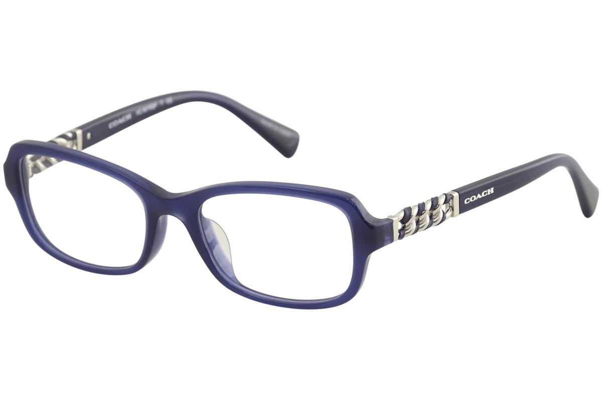 4061c19e418e Coach Women's Eyeglasses HC6075QF HC/6075/FQ 5358 Navy Optical Frame ...