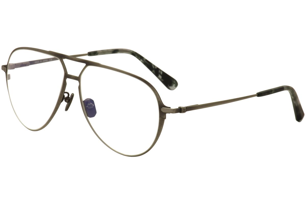 d659a4af8de Brioni Eyeglasses BR 0011O 0011 O 002 Matte Silver Titanium Optical ...