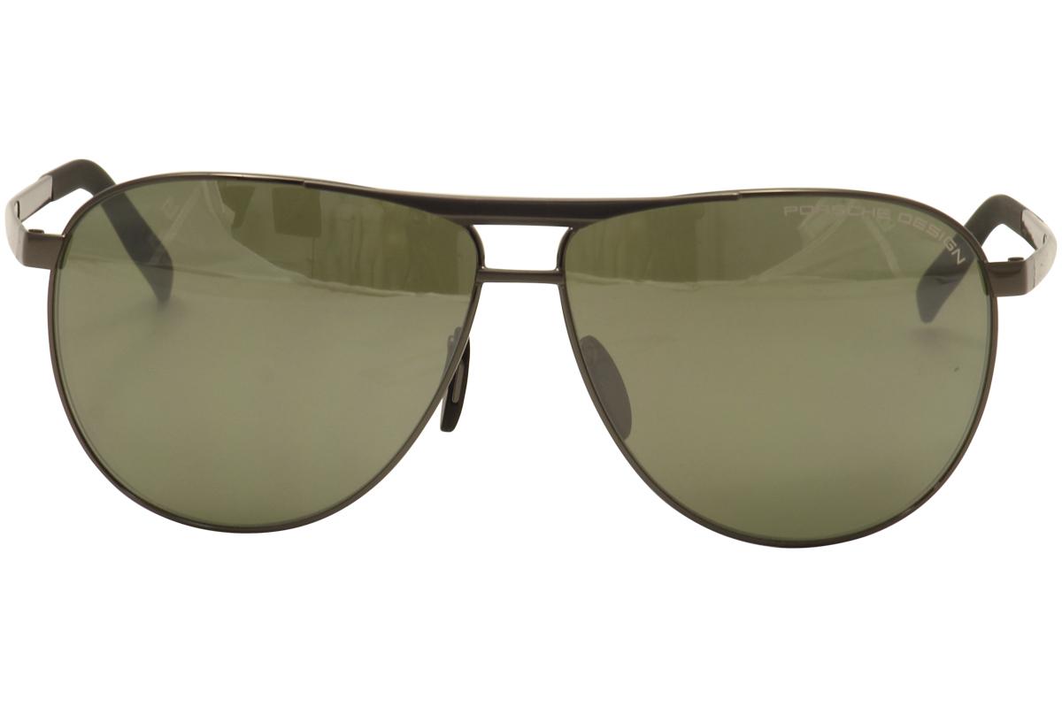 c2bebf0072 Porsche Design Men s P8642 P 8642 Square Fashion Sunglasses 62mm