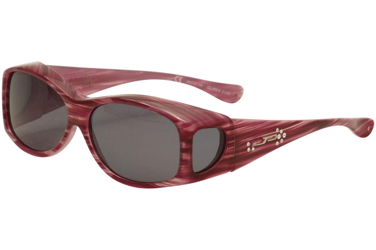 70f3aed89d Details about Jonathan Paul Glides G 012S 012 S Red X-Small Fitovers  Polarized Sunglasses 58mm