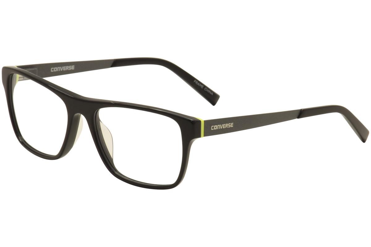 Converse Men\'s Eyeglasses Q304 Q/304 Black Full Rim Optical Frame ...
