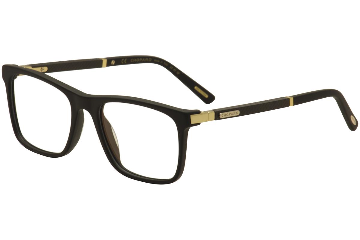 3824e5a228b Chopard Eyeglasses VCH217 VCH 217 0703 Black 23KT Gold Plated ...