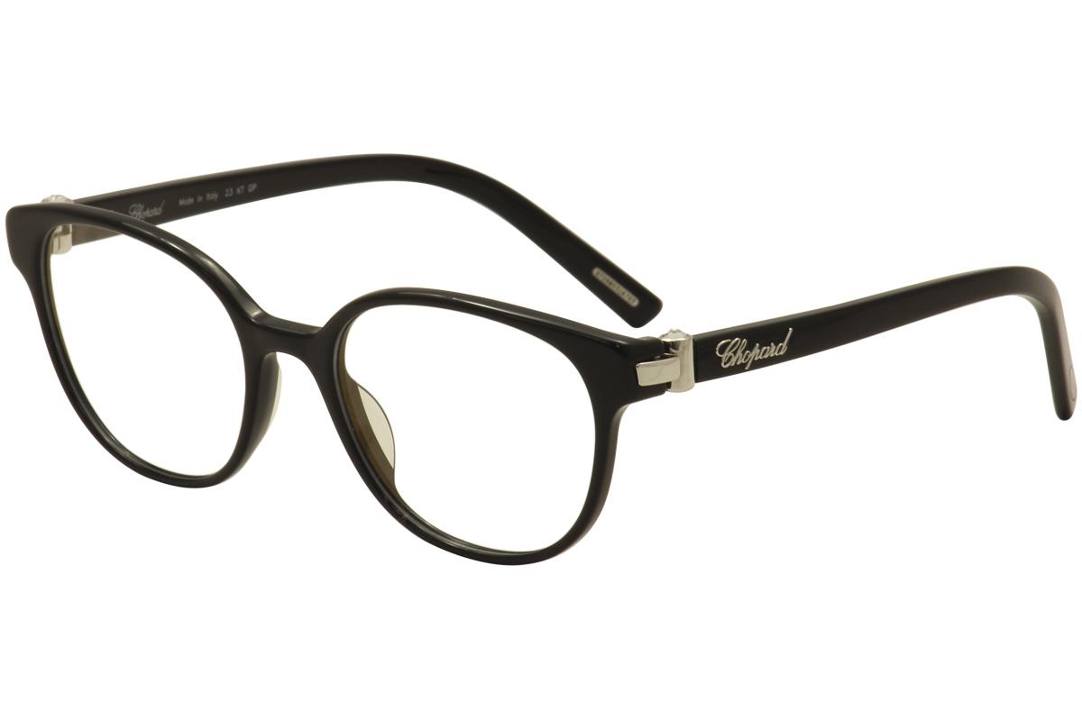 b2963e7962d Chopard Eyeglasses VCH 198S 0700 Black 23KT White Gold Plated ...