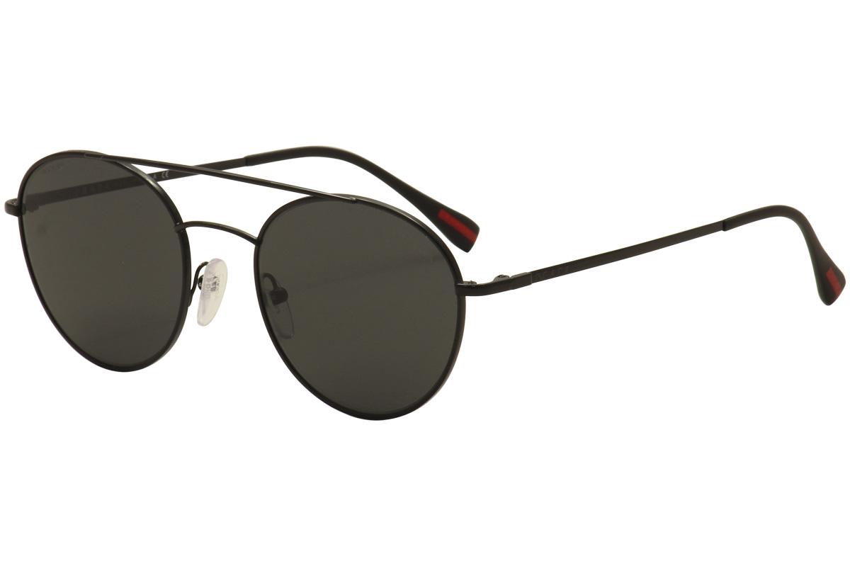 cc44d51fbeca Prada Linea Rossa Men s SPS51S SP S51S 7AX-5S0 Black Fashion ...
