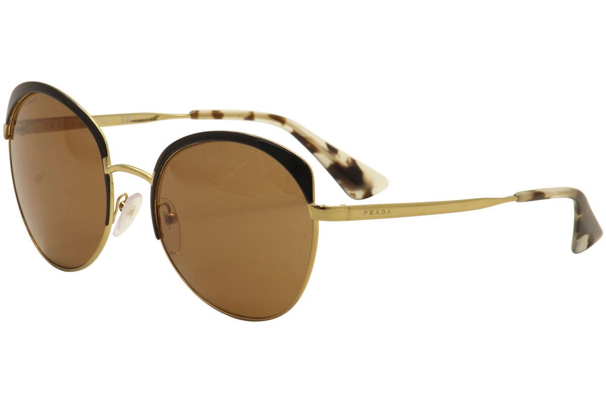 d85a135476324 Prada Women s SPR54S SPR 54S LAX-6N0 Antique Gold Black Fashion ...
